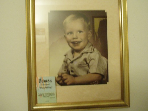 Vern, as a little boy.