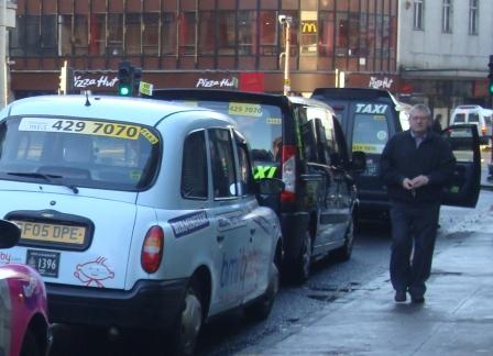 taxis in Glasgow