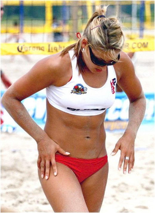 Hot Beach Volley Ball Girls Sexy Photos