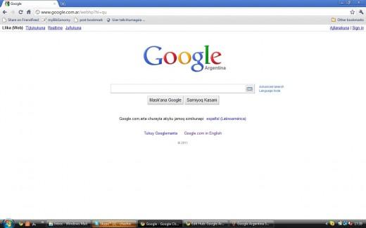 Google AR in Quechua