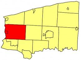 Map location of Lewiston, Niagara County, NY