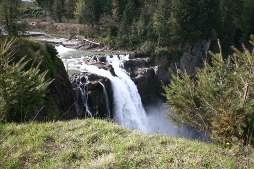 Upper section of Snoqualmie Falls