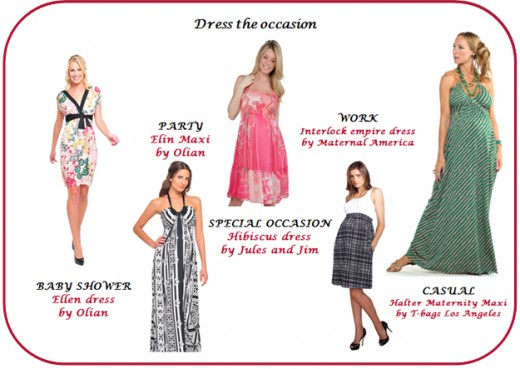 Maternity summer dresses designer brands and more for Couture brand names