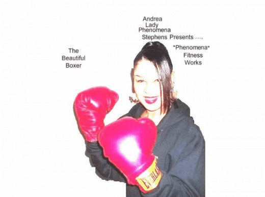 "Andrea Lady Phenomena Stephens Is  Gorgeous And She Is Definately A ""Knockout"" In Her Boxing Gear!"