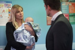 at the hospital Ronnie tells Jack that the baby is not his and rushes of in the car