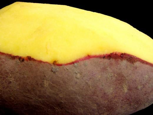 Image: Peeling Potatoes