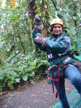 Ready for adventure in Monteverde