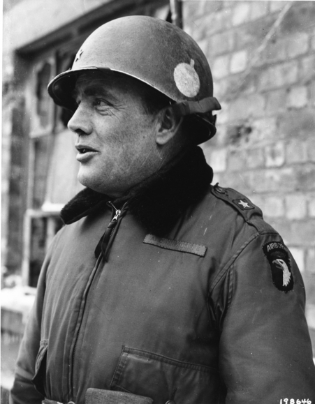 General McAuliffe of the 101st Airborne