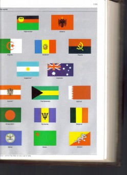 World's History of National Flags. They are Displays of a Country's Pride.