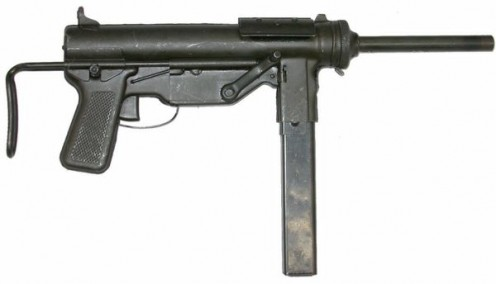 "M3 .45 Calibre Sub-Machine Gun or ""Grease Gun"""