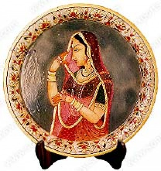 Indian Traditional Art Picture