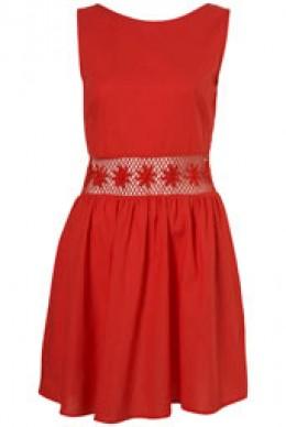 Spring 2011 Topshop dress with crochet waist