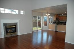 Cherry hardwood floor