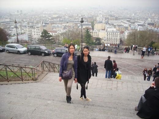 View of Paris from Sacre Ceour