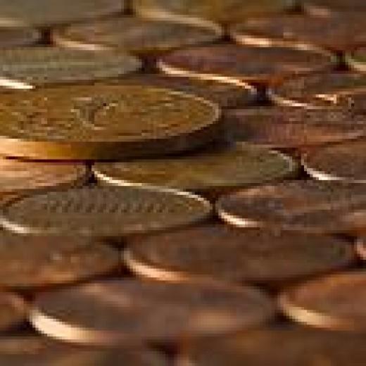 Saving pennies, just isn't going to make it.