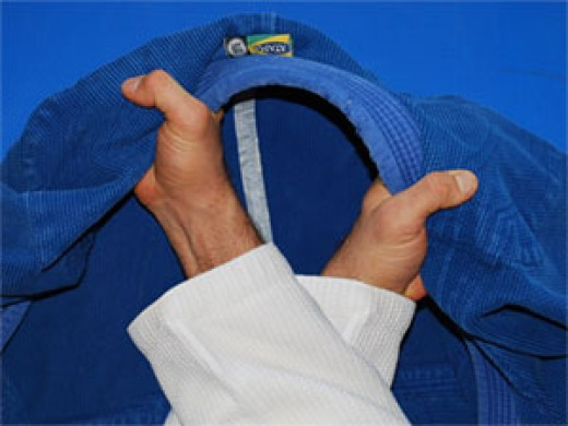 cross collar choke grips