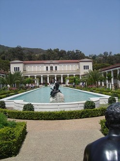 Visiting The Getty Villa in Malibu, California.