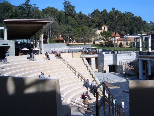 Outdoor Greek Theater and Cafe