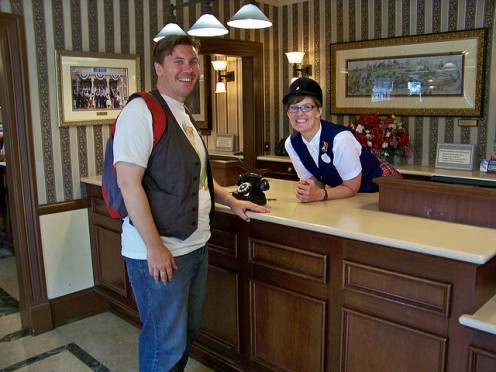 Friendly Cast Members are happy to help you celebrate your special day with a phone call from a cherished character.
