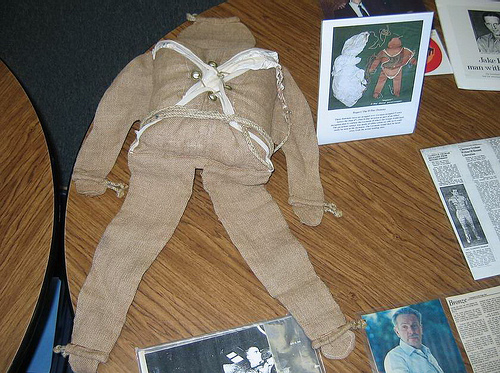 Rupert the WW2 dummy paratrooper
