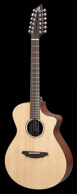 The Breedlove AC-250 / SM-12 Guitar - Photo courtesy http://www.breedloveguitars.com/instruments/guitars/atlas/ac250_sm12/index.php