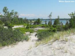 View of North Beach Provincial Park