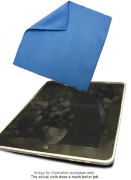 Use a clean, slightly damp, lint-free cloth