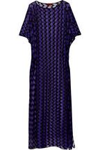 Granada crochet-knit maxi kaftan