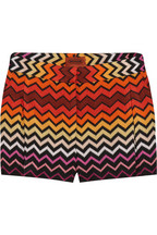 Missoni crochet shorts