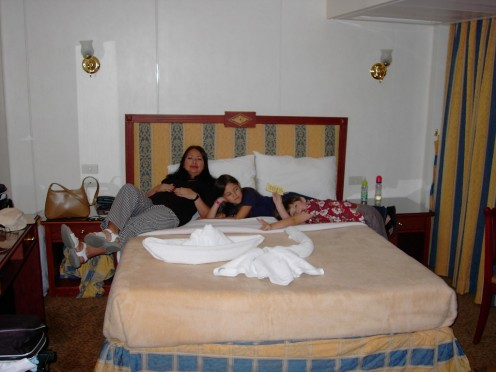 Egypt - Tour of The Ancient Wonders with Nile Cruise-Children Love The Creative Animation Surprise of the Roomkeeper.