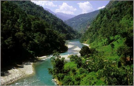 Sikkim Valley