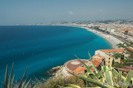 French Seaside Town