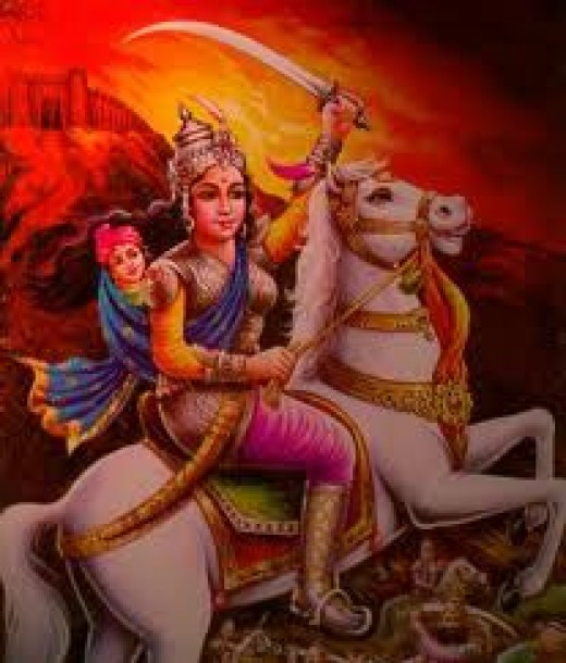 Queen of Jhansi called 'Jhansi ki Rani'