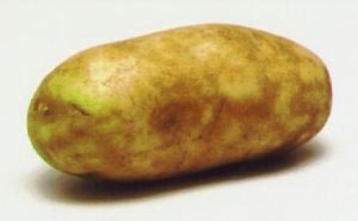 Raw potatoes especially those with green spots that contain aflatoxin and solanine which can effect the nervous system.