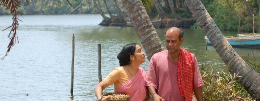 Shari Lungi Blouse Photos from Malayalam Movie Snehadaram