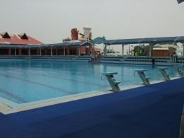 Full size swimming pool