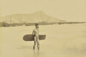 Courtesy of Dominion Winter  The photo up for auction is believed to be one of the earliest surf photos on record