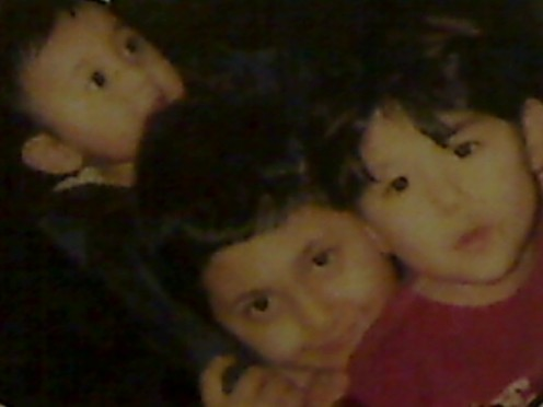 Baby Ryan and brothers
