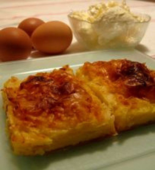Using fresh eggs make a difference in the taste, as well as butter instead of margarine.