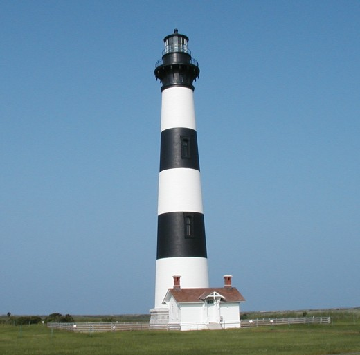 Bodie Island Lighthouse. North Carolina Outer Banks.