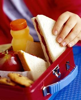 Packed lunches should contain one portion from each of the  5 main food groups