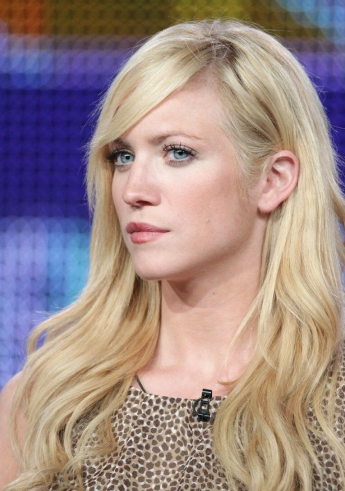 Actress Brittany Snow ...