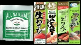 Wasabi prducts
