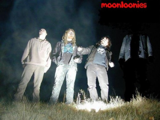 Moonloonies being abducted