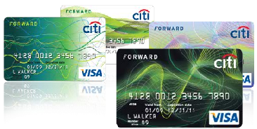 stylish citi forward credit cards
