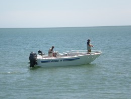 Blue Water Fishing, off the shores of Cape Don, Gurig National Park, Cobourg Peninsula, Northern Territory, Australia.