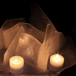 Soy or beeswax candles lend an aura of romance through clean-burning light.  CC image: http://creativecommons.org/licenses/by-nd/2.0/deed.en