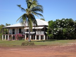 Cape Don's House or Lodge. Cape Don, Cobourg Peninsula, within Gurig National Park, in Australia's Northern Territory.
