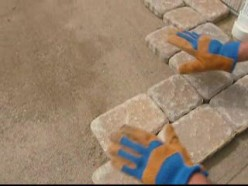 DIY Patio Paving