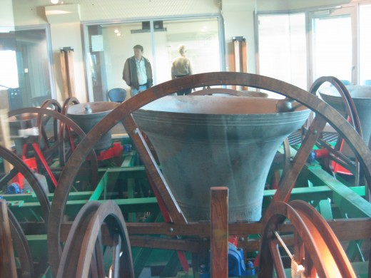 There is also a Bells Handling Demonstration during the following times: Monday, Tuesday, and Friday: 12pm - 2pm.